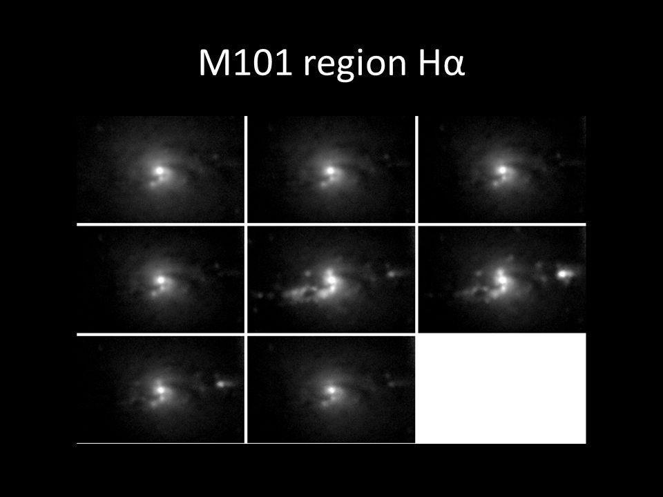 M101 region Hα