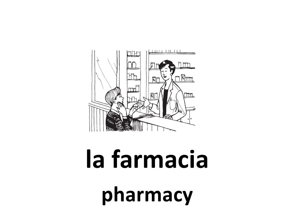 la farmacia pharmacy