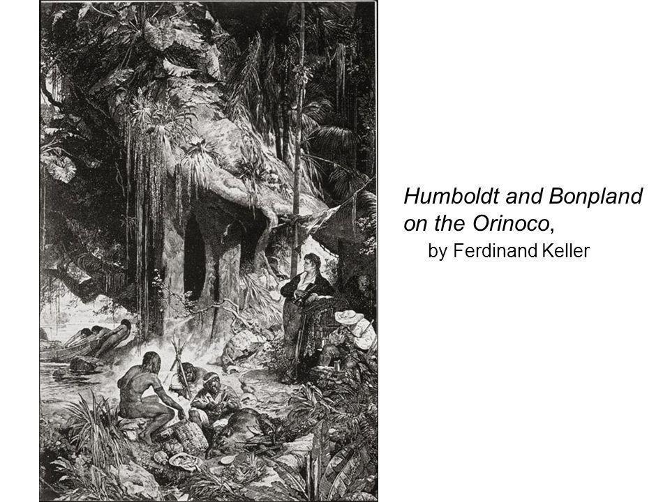 Humboldt and Bonpland on the Orinoco, by Ferdinand Keller