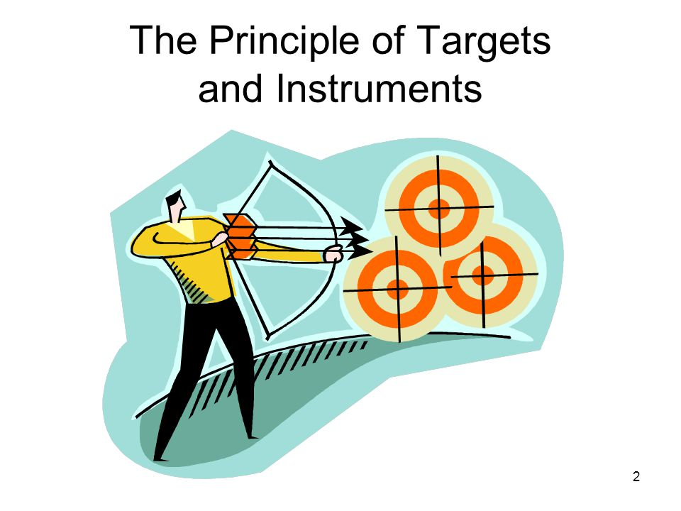2 The Principle of Targets and Instruments
