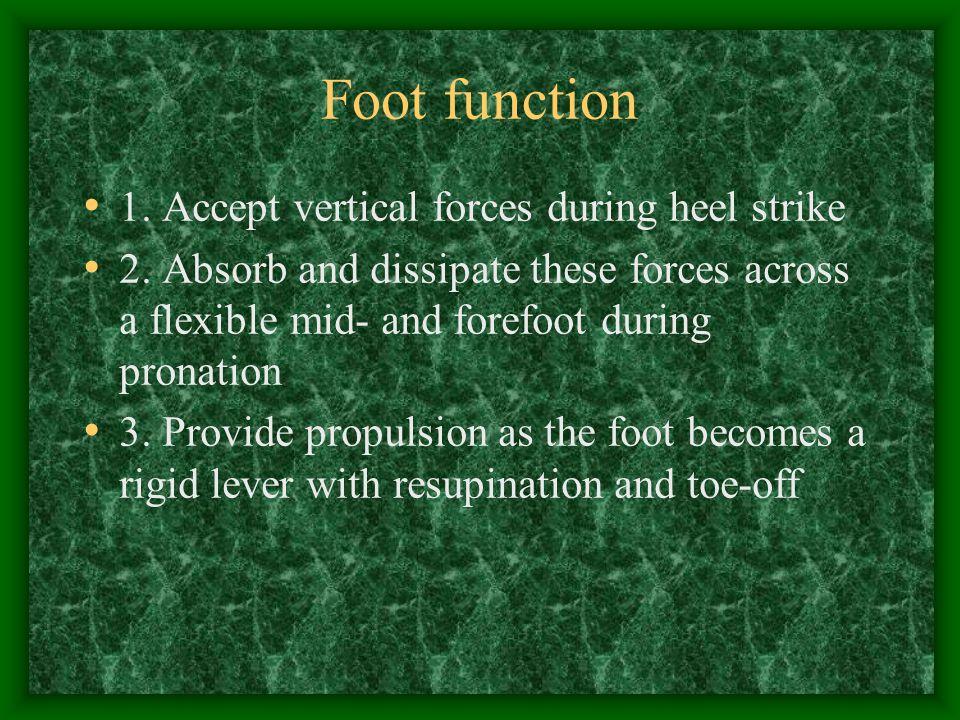 Summary Understand normal foot biomechanics- pronation vs.