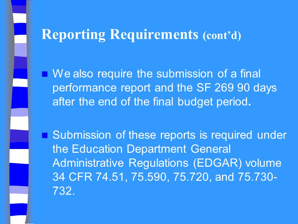 Formatting Narrative Applications consist of: 1.SF 424 2.Budget forms, GAANN statutory assurances, and other standard forms 3.Narrative -Abstract -Narrative content (addressing criteria) -Appendices