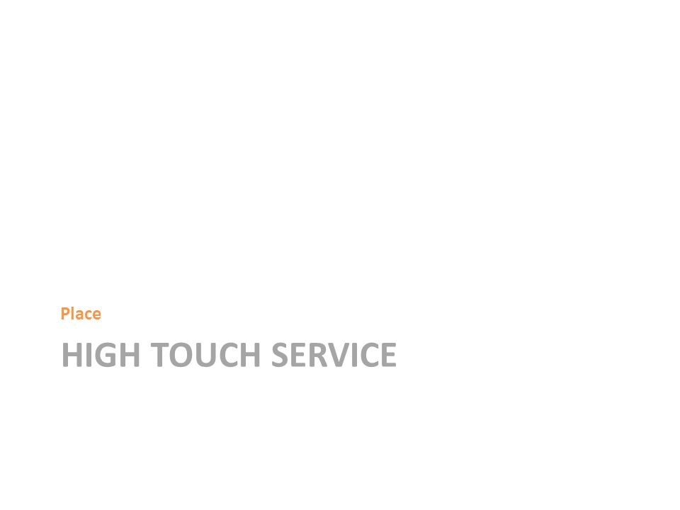 HIGH TOUCH SERVICE Place