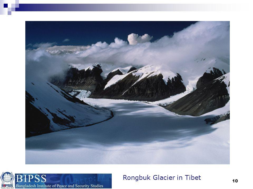 10 Rongbuk Glacier in Tibet