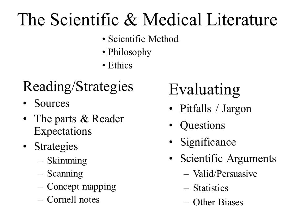 The Scientific Method Ask a Question Do Background Research Construct Hypotheses Test with Experiments Analyze Results / Draw Conclusions Hypothesis is True Hypothesis is False or Partially True Report /Publish Results Rethink Hypothesis
