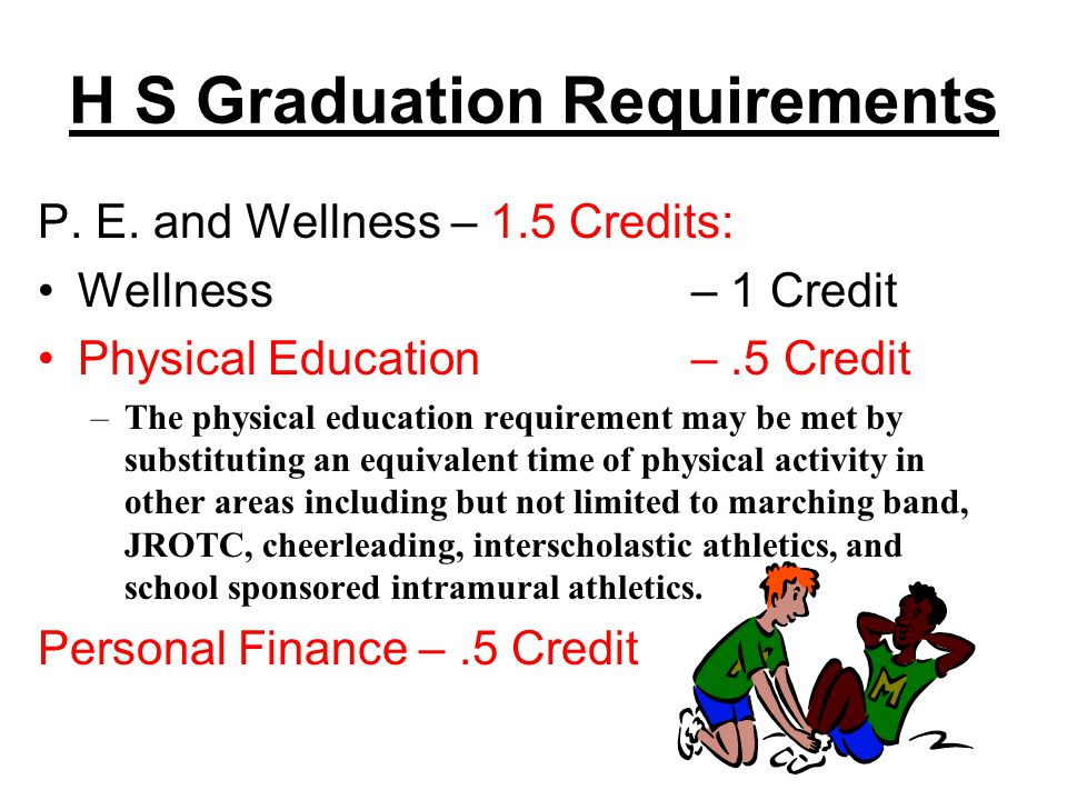 H S Graduation Requirements Fine Art, Foreign Lang., and Elective Focus – 6 Credits: Fine Art– 1 Credit Foreign Language– 2 Credits (Same) Elective Focus– 3 Credits –Students completing a CTE elective focus must complete three units in the same CTE program area or state approved program of study.