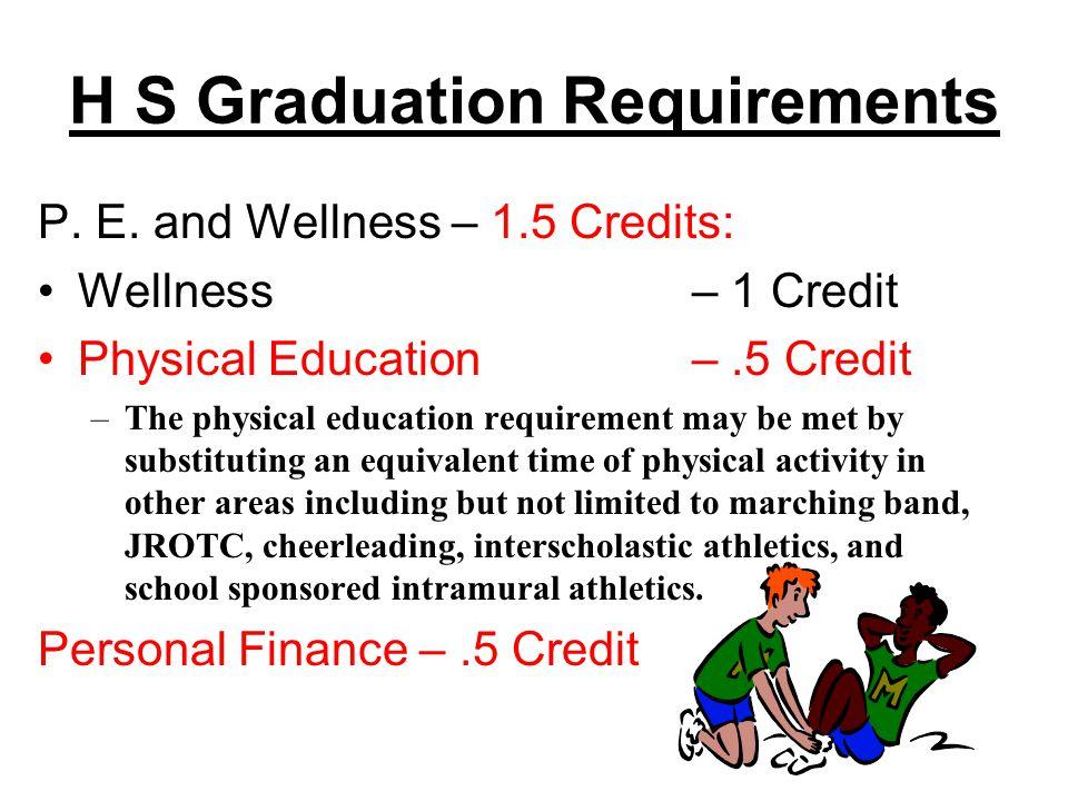H S Graduation Requirements P. E.