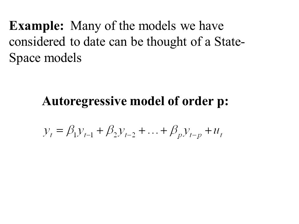Then where One also assumes that the initial vector x 0 has mean and covariance matrix an that