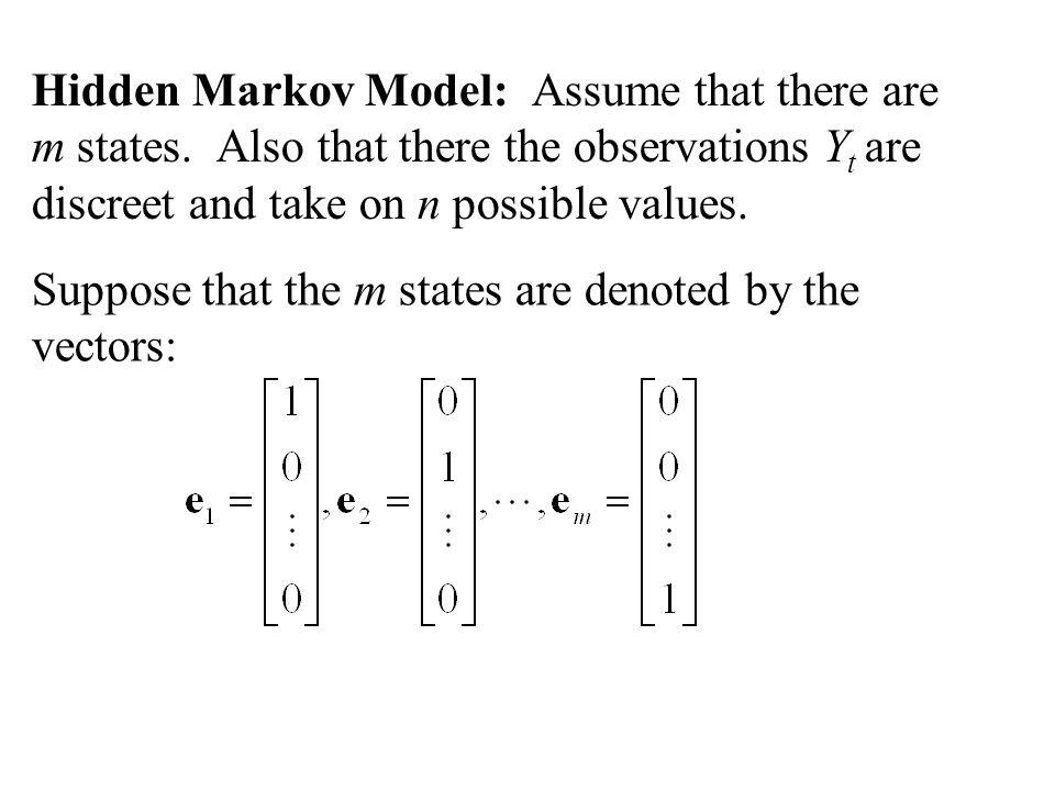 The Kalman equations 1. 2. 3. 4. 5. Let