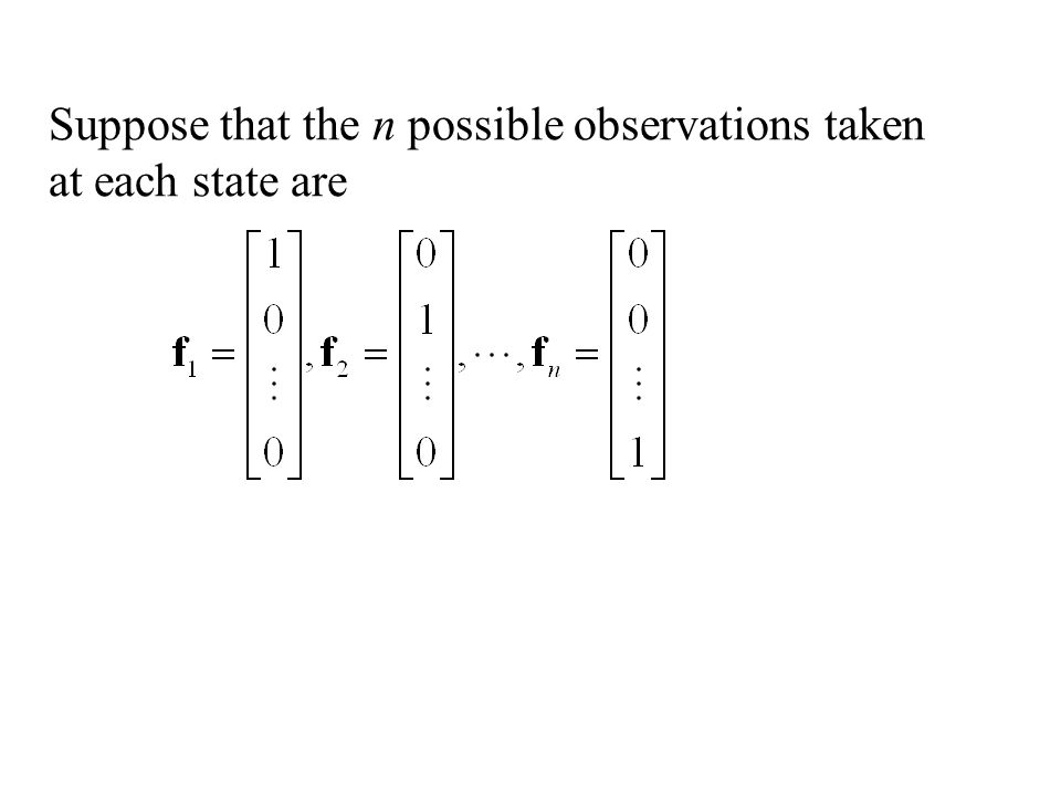Remark: The best predictor is the unique vector of the form: Where C 0, C 1, C 2, …,C s, are selected so that: