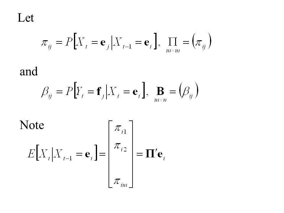 Let So that The State Equation with