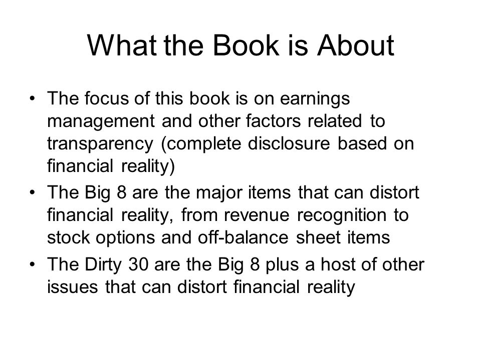 Areas of Corporate Governance Analysis The CEO & board of directorscomposition, independence & policies Executive compensationwhat forms, how much, relation to performance Auditingthe role of the audit committee, the external auditor, non-audit fees Related-party transactionpotential conflicts of interest Insider tradingpatterns that suggest abuse Investment banking relationships Evidence of past abuse such as earnings restatements