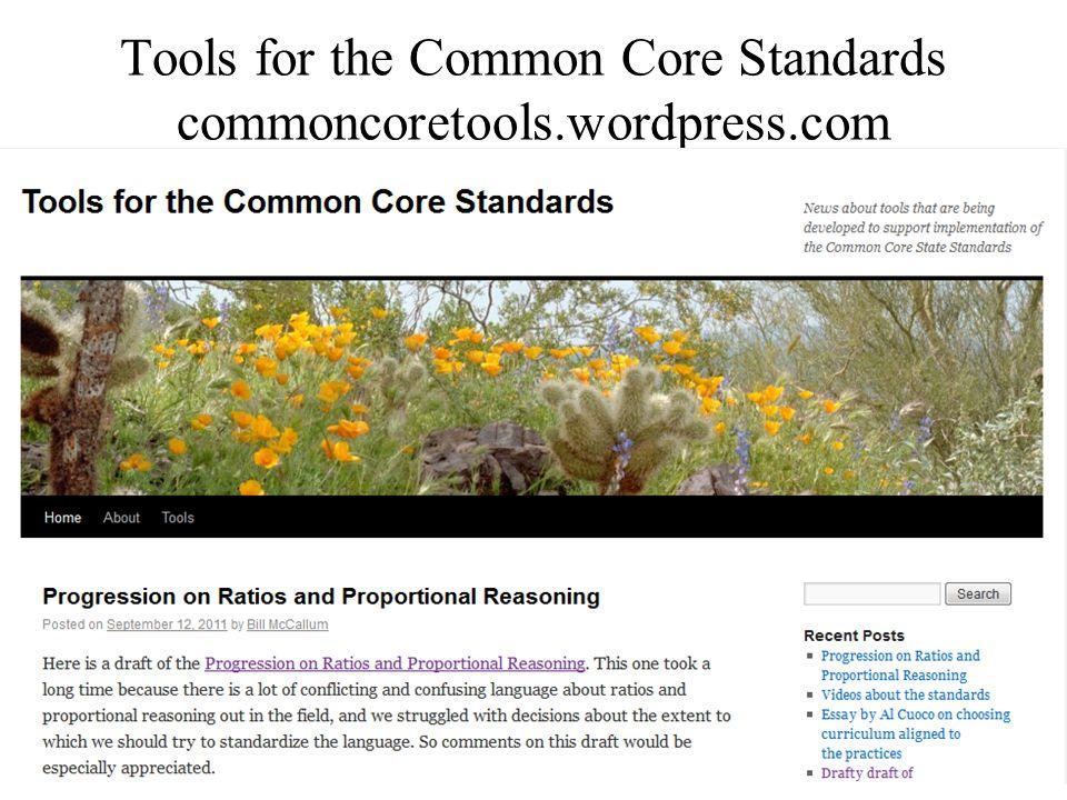 47 Tools for the Common Core Standards commoncoretools.wordpress.com