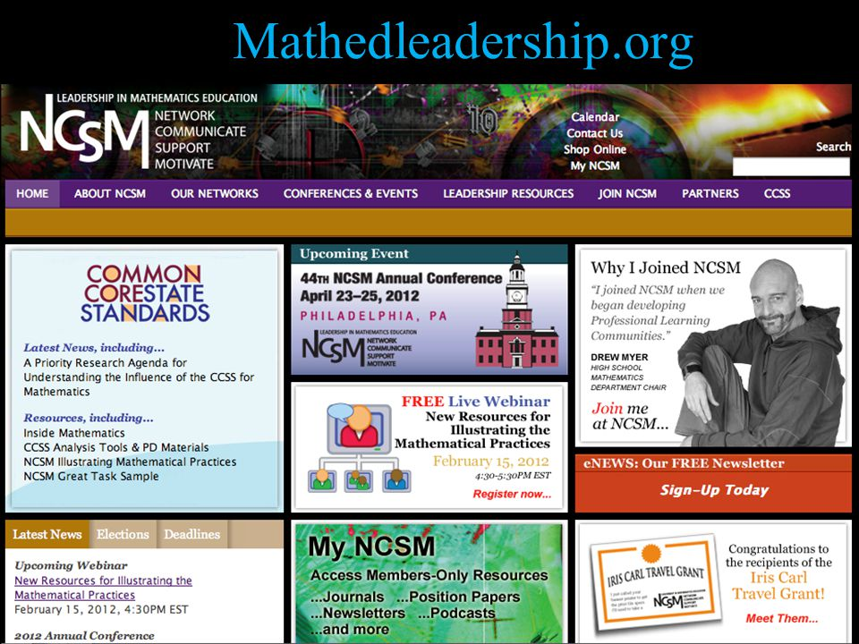 Mathedleadership.org 50