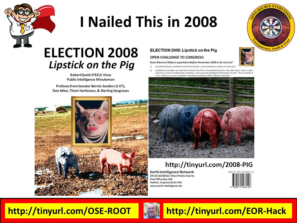 http://tinyurl.com/OSE-ROOThttp://tinyurl.com/EOR-Hack I Nailed This in 2008 http://tinyurl.com/2008-PIG