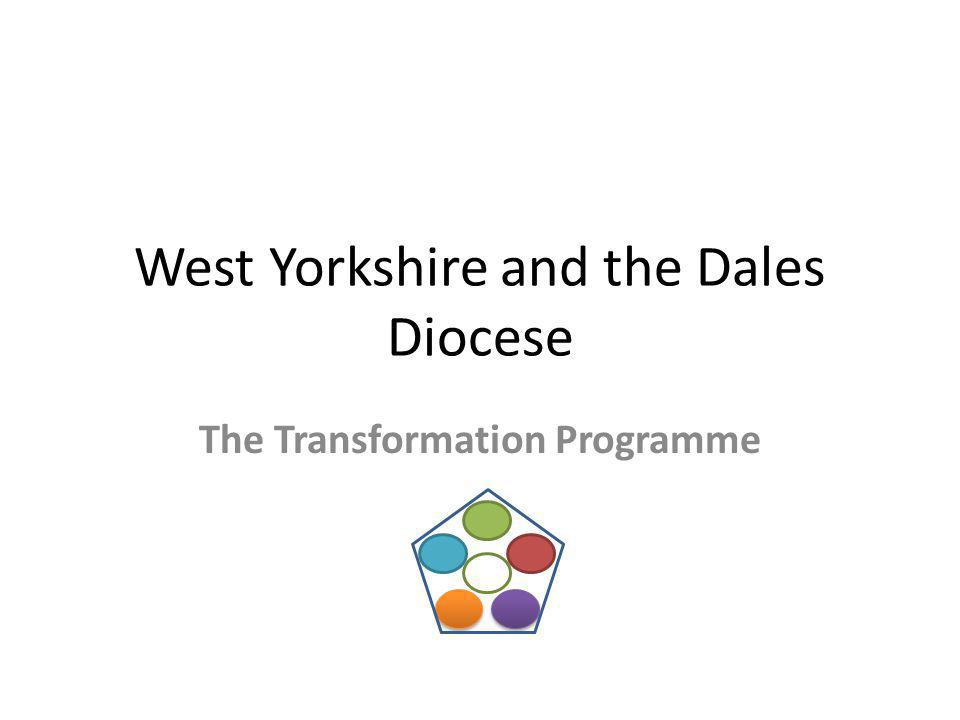 West Yorkshire and the Dales Diocese The Transformation Programme