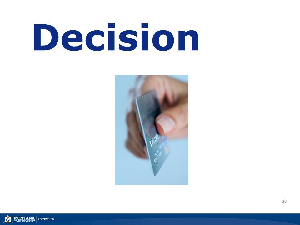 33 Decision