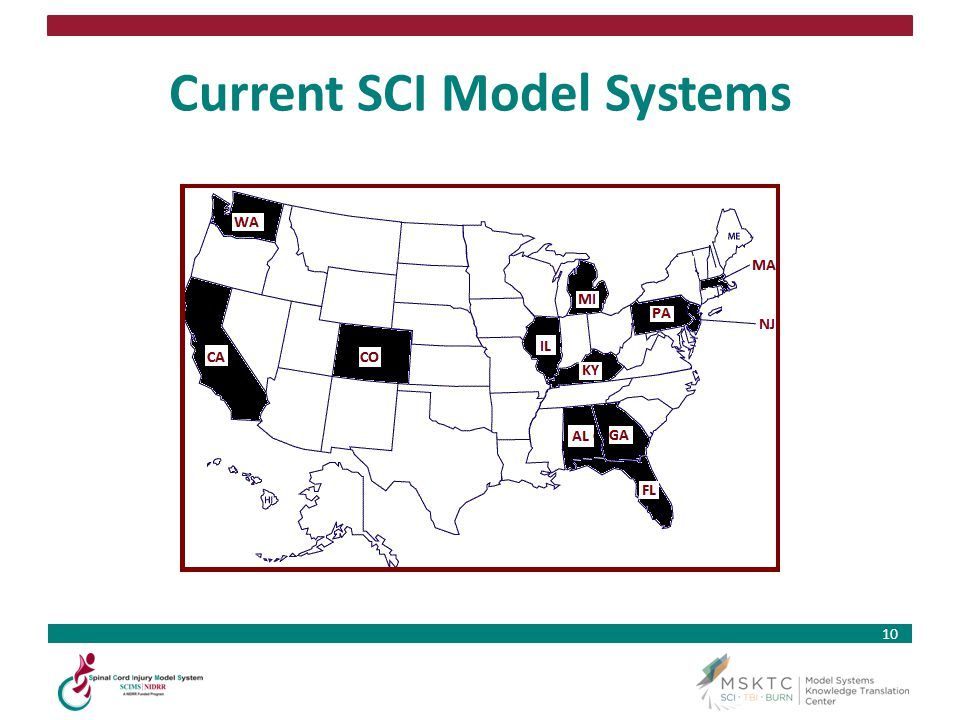 10 Current SCI Model Systems