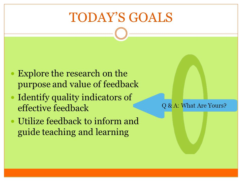 THE TRUE VALUE OF FEEDBACK Ruth Butler (1986) Students given only comments scored on average 30% higher.