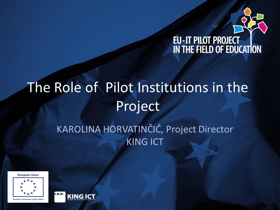 For more information : www.itpilotproject.eu Rejhan Halili, Office Manager phone: +386 (0) 43 774 774 mob: +386 (0) 49 770 251 fax: +386 (0) 43 774 774 e-mail: rejhan.halili@king-ict.hr Address: Str.