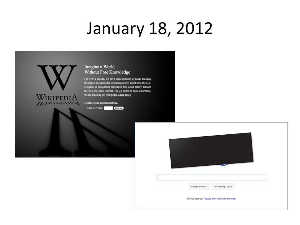 January 18, 2012