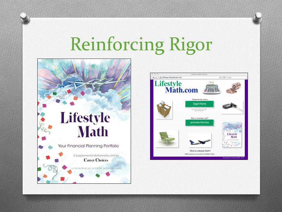 Reinforcing Rigor
