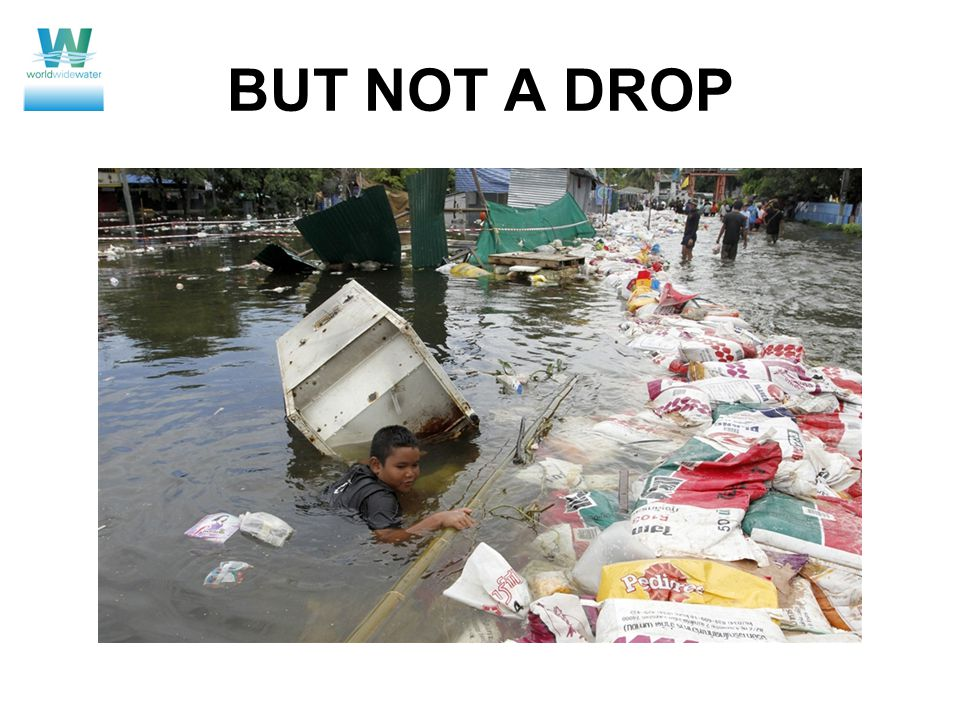BUT NOT A DROP