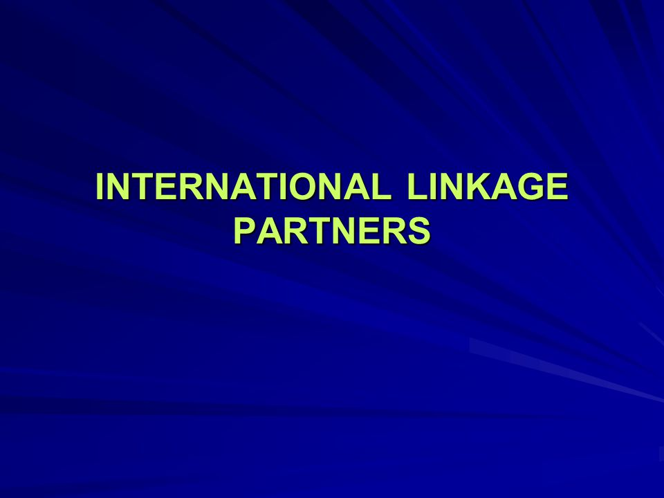 INTERNATIONAL LINKAGE PARTNERS