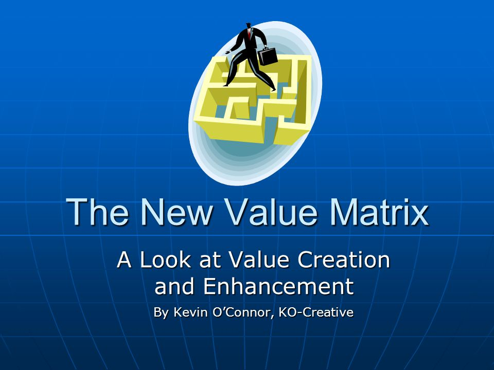 Parting Thoughts About Value Keep your thoughts positive, because your thoughts become your words.