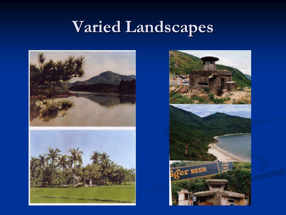 Varied Landscapes