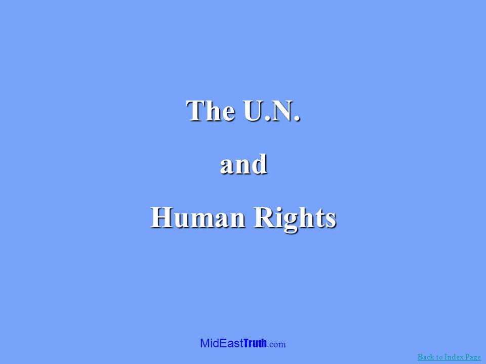 MidEast Truth.com By Noah Bee, 1975.Anti-Israel sentiment in the U.N.