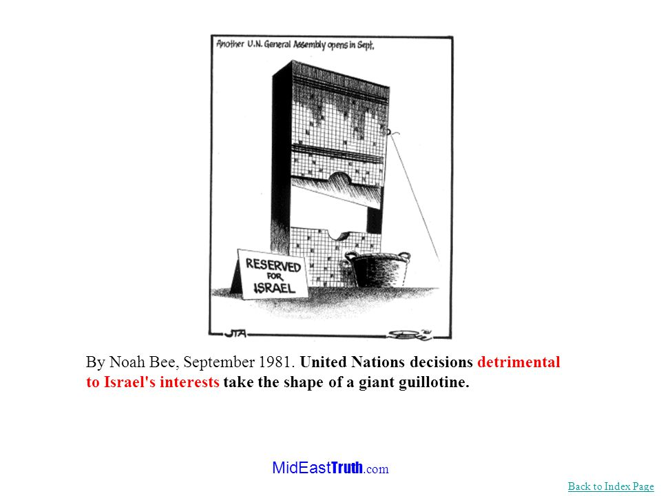 MidEast Truth.com <<< Continued from previous slide …Obsession with Israel at the U.N. is by now as commonplace as the wolfish nature of the wolf in a