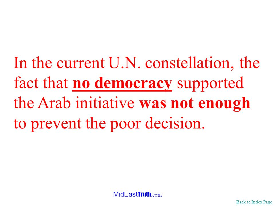 MidEast Truth.com While millions of people are being murdered, tortured and enslaved, with no intervention by the U.N., Israels Security Fence was sent by the U.N.