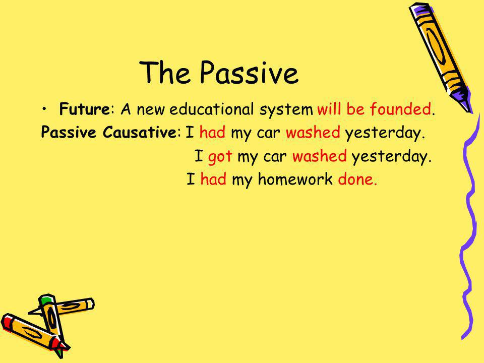 The Passive Future: A new educational system will be founded.