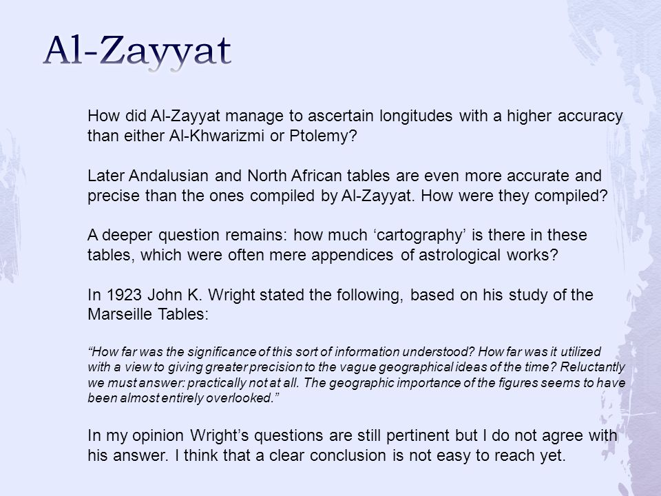 How did Al-Zayyat manage to ascertain longitudes with a higher accuracy than either Al-Khwarizmi or Ptolemy.