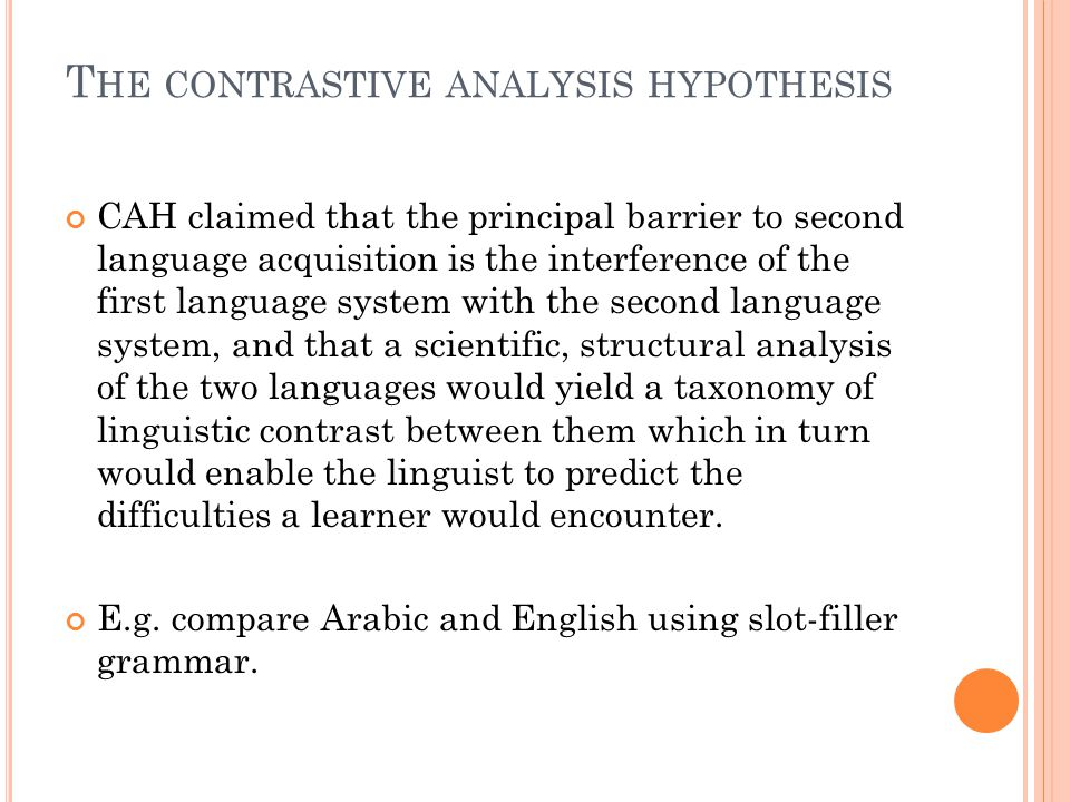 W HAT DOES CROSS LINGUISTIC INFLUENCE IMPLY .