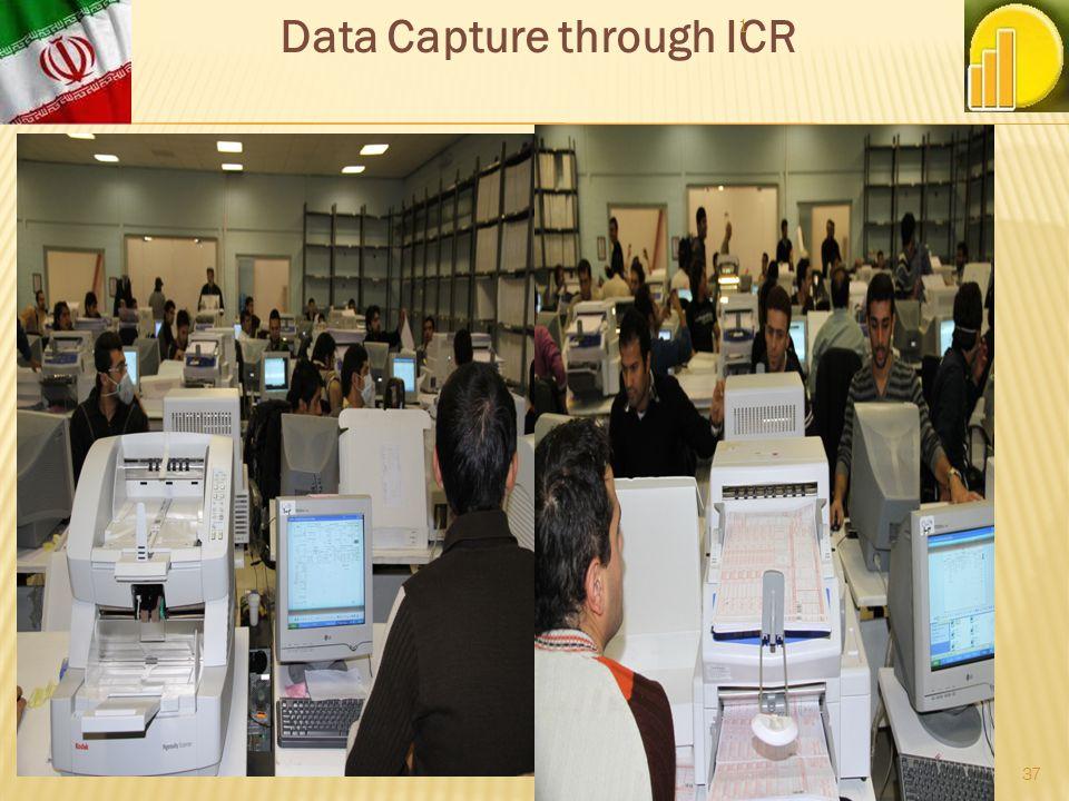 Data Capture through ICR 1 37