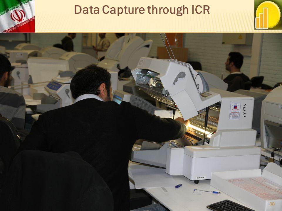 Data Capture through ICR 1 38