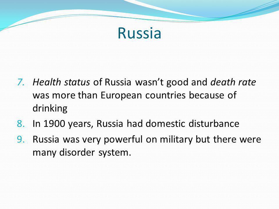 Russia 7.