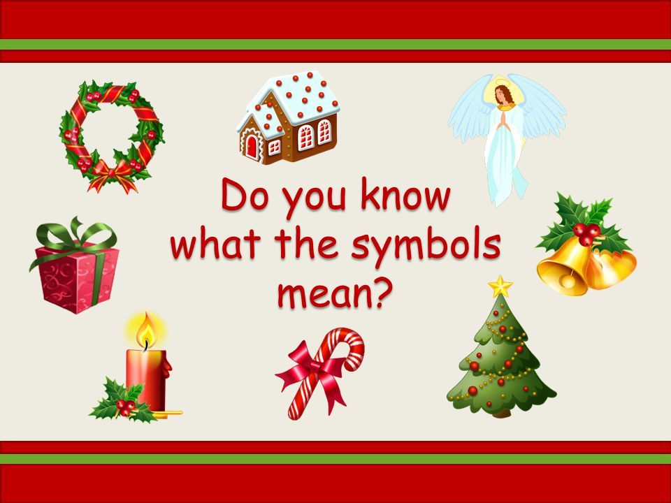 Do you know what the symbols mean?