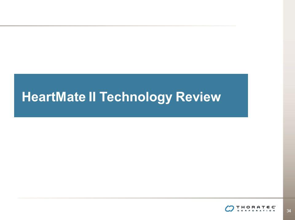 34 HeartMate II Technology Review