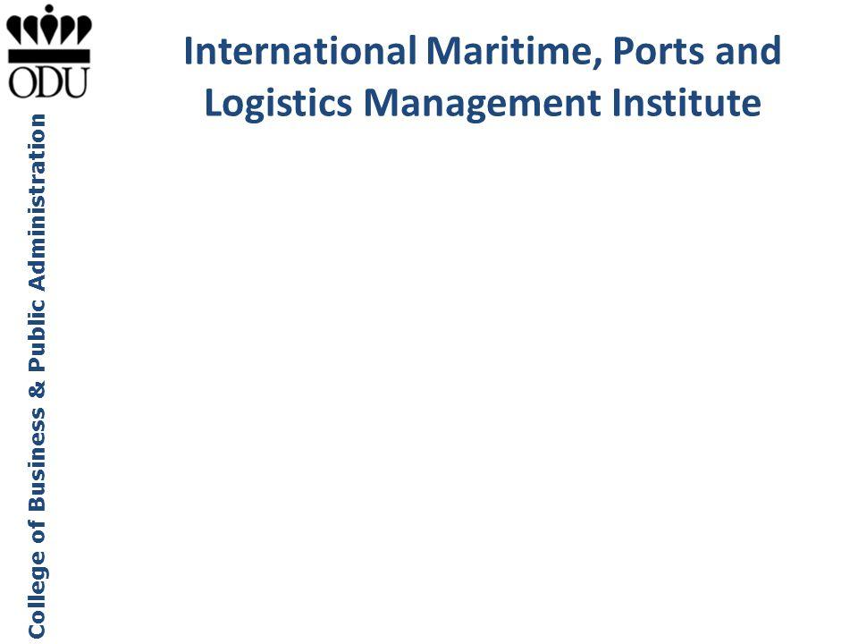 College of Business & Public Administration Tour of Western European Ports Maritime Institute Advisory Council ODU Maritime Institute Speaker Series a