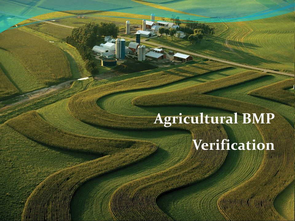 Agricultural BMP Verification