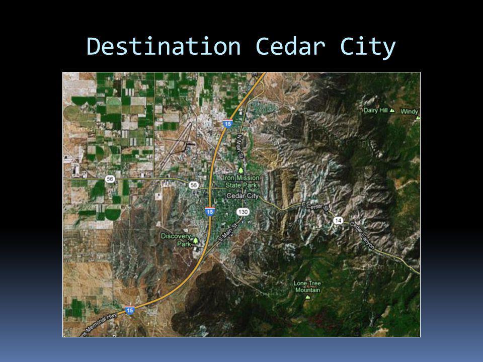 Destination Cedar City