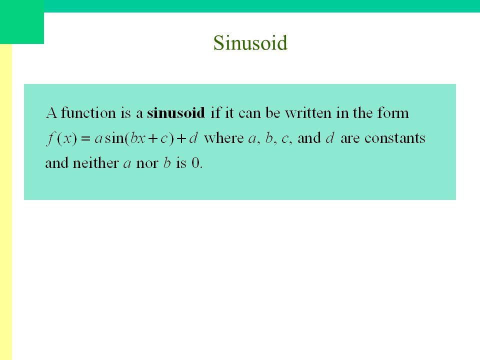 Sinusoid