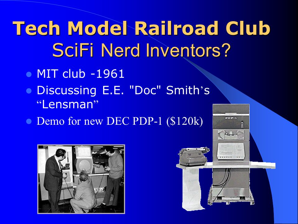 Tech Model Railroad Club SciFi Nerd Inventors.MIT club -1961 Discussing E.E.