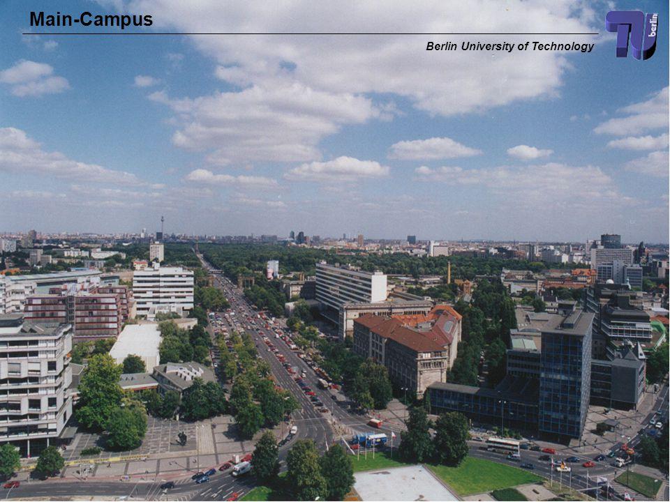 TKN Telecommunication Networks Group 4 Main-Campus Berlin University of Technology