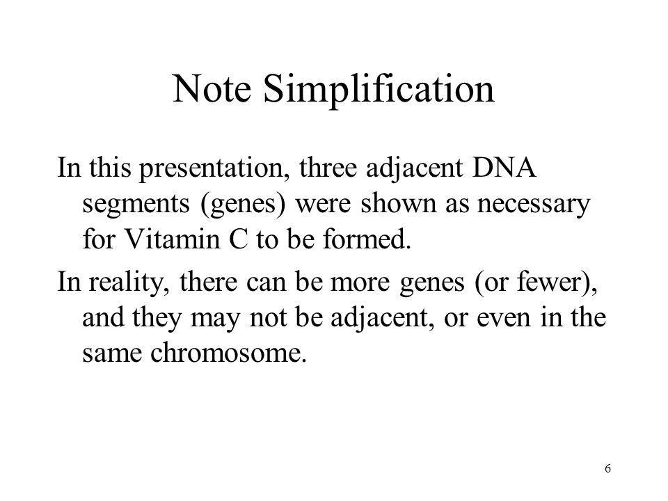 Vitamin C, GULO Pseudogenes & Primate Evolution 5