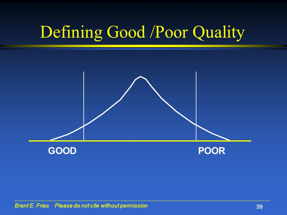 Average Good/ Bad HCQIs, by Quarter Bad Good RAI Training