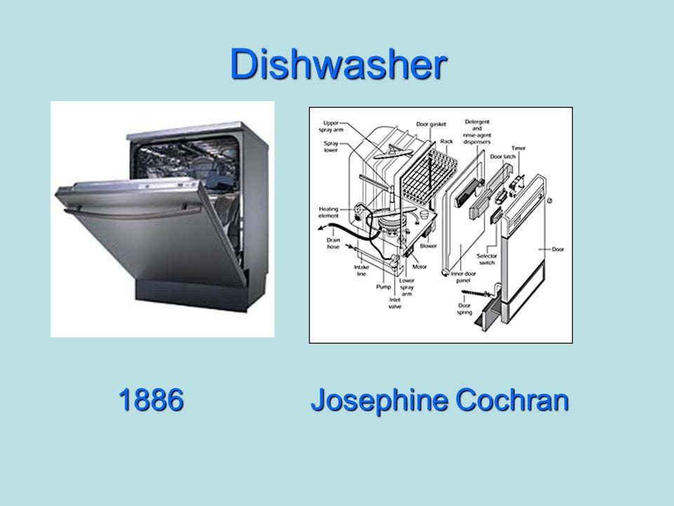 Dishwasher 1886Josephine Cochran